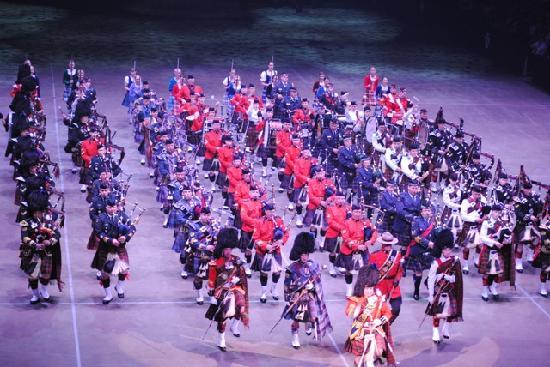 Royal Nova Scotia International Tattoo: Massed Pipes & Drums
