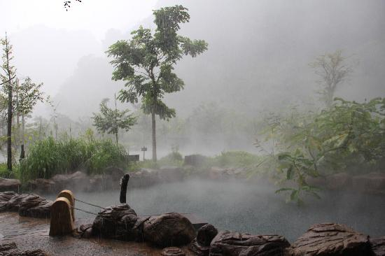 The Banjaran Hotsprings Retreat: The Banjaran view when raining