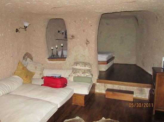 Meleklerevi Cave Hotel: Main room!