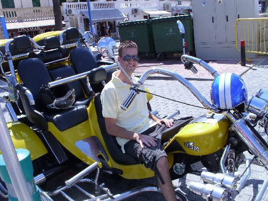 Yellow Trike Tours: The trike!!