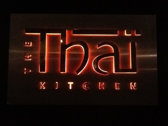Thai Kitchen Logo logo signage - picture of the thai kitchen, dubai - tripadvisor