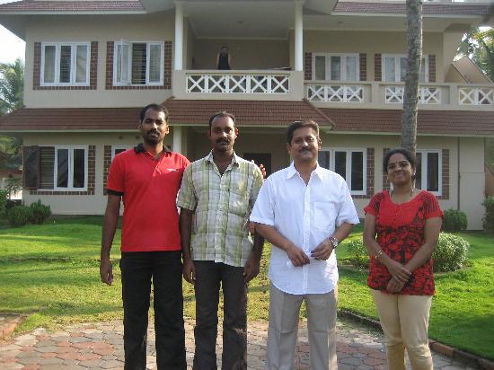 Asokam Beach Resort: The Asokam family