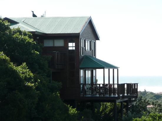 Boardwalk Lodge: Lodge am Hang