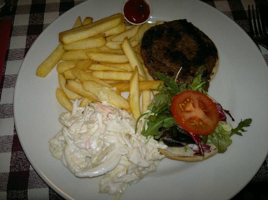 Papa Joe's: Blackened burger