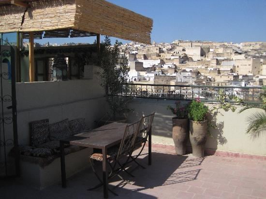 Dar Sienna: one of the rooftop terraces