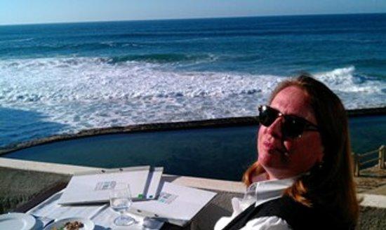 Azenhas do Mar Restaurante Piscinas: Pure bliss