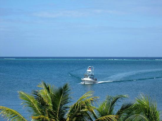 Turquoise Bay Dive & Beach Resort: Retour d'une plongée