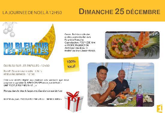 Nemo Cruises Day : Passage TV sur Polynésie Première