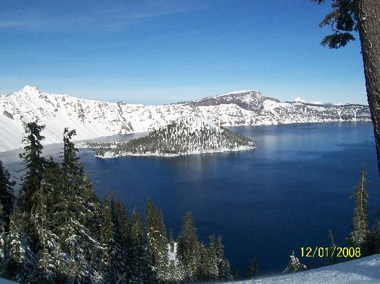 Crater Lake Bed and Breakfast: Crater lake