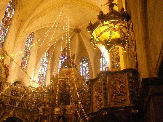 Basilica de Sant Francesc: altro particolare