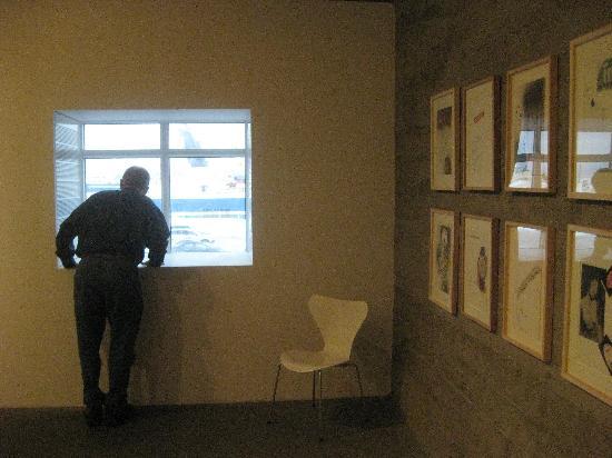 Musée d'art de Reykjavík : The view from the library