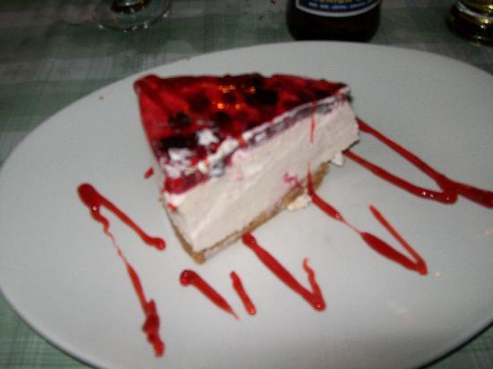 Trattoria La Vigna : Cheesecake