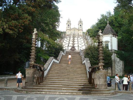 Bom Jesus do Monte: escaliers