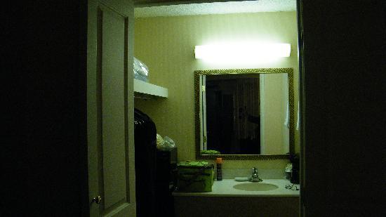 Palm Garden Hotel: sink area