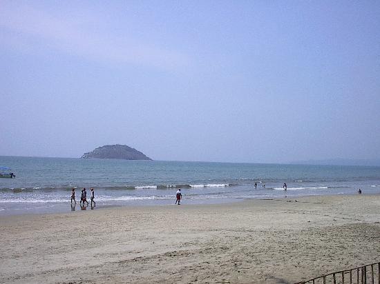 Las Cabanas del Capitan: Playa en temporada baja