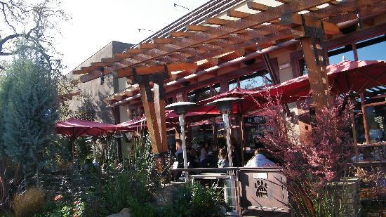 Lazy Dog Restaurant & Bar: outside of the Lazy Dog