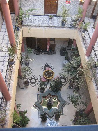 Hotel Imouzzer: The middle of the Riad