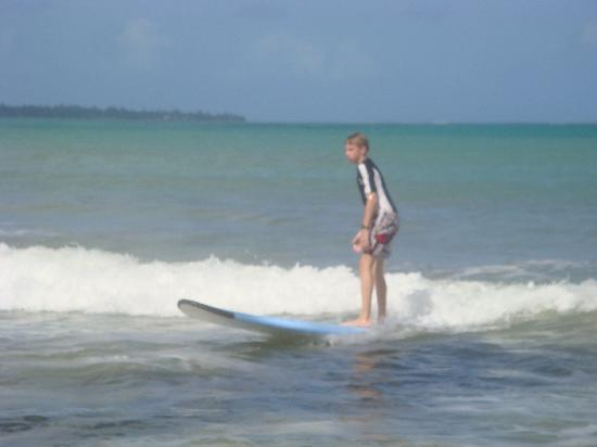 Bob's East Island Surfing Adventures: It's easy, pnce you get the hang of it