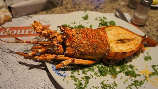 مطعم قدورة للاسماك: Лобстер