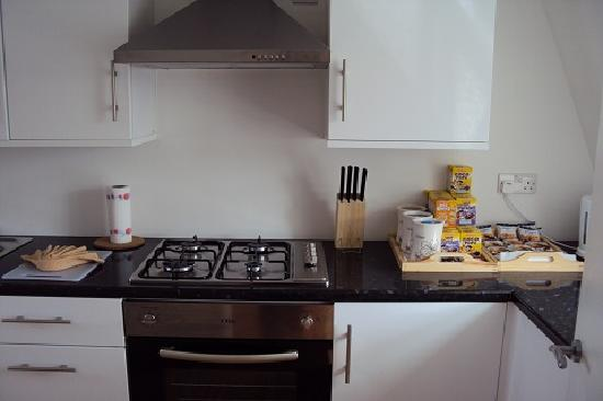 Central London Serviced Aparthotel : Communal Kitchen