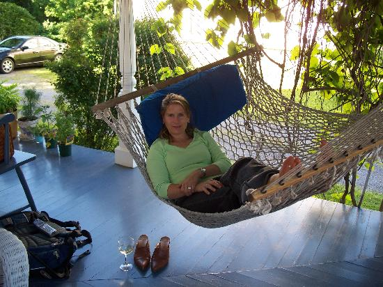 Main Street Bed and Breakfast: Hammock With net