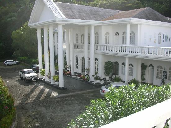 Jamaica Palace Hotel: l'entrée...
