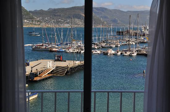Simon's Town Quayside Hotel and Conference Centre: Blick aus dem Zimmer