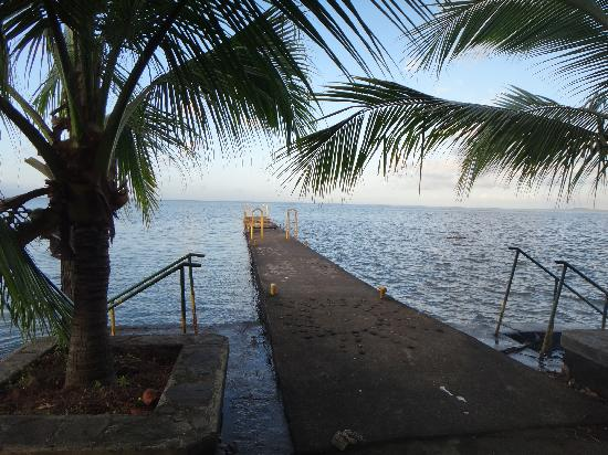 Hacienda Merida: View from the dock