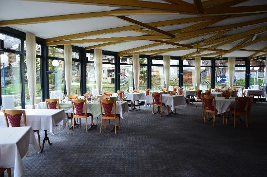 Hotel du Glacier: Dining Room