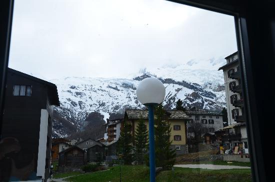 Hotel du Glacier: View