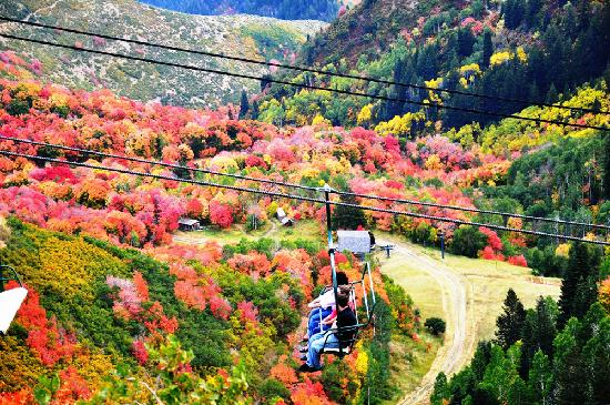 Provo, UT: Fall Colors at Sundance Resort
