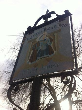The King's Head Inn: Old sign!!