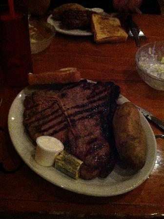 Cowboy Steak Picture Of Cimarron Steak House Oklahoma City