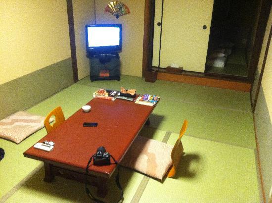 Hokkaikan Ohanabo: Our room's living area....