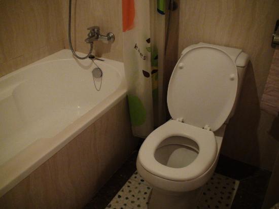 Best Bathroom Decor toilet bathroom : bathroom tub and toilet - Picture of Monorom VIP Hotel, Kampong ...