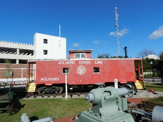 Wilmington Railroad Museum: caboose