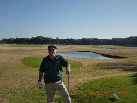 "Caswell Beach, NC: 1st Tee Oak Island ""beautiful"""