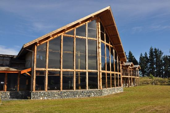 Fiordland Lodge: Outside of Lodge
