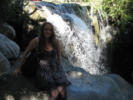 Chinese Garden of Friendship: waterfall