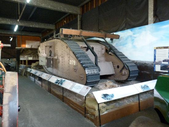 Museum of Lincolnshire Life: World war one tank