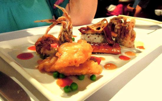 Nine Fine Food Modern Japanese: Beautiful Presentation