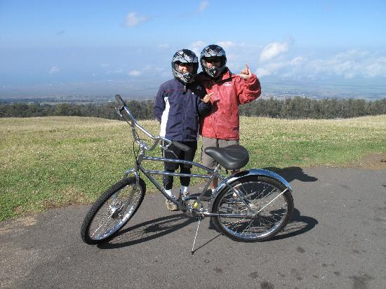 Paia, Hawái: downhill bike