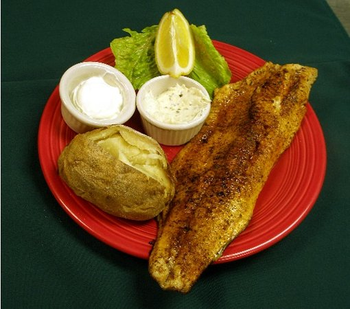 Lemon Wolf Cafe : Fresh Fish!!