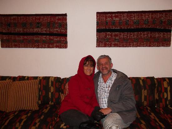 Tierra Viva Cusco Saphi: en la entrada!