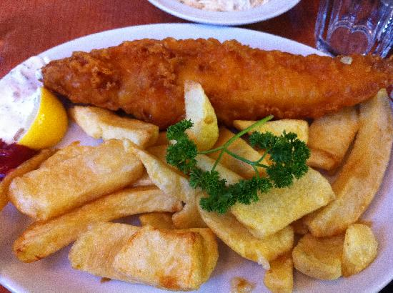 Rock & Sole Plaice: Cod and Chips