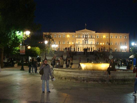 Foto de grecia europa la famosa plaza sintagma atenas for Musica orientale famosa