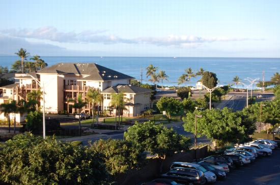 Worldmark Kihei: view from our balcony/lanai