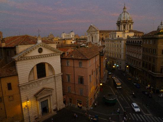Hotel Primavera: View from our window