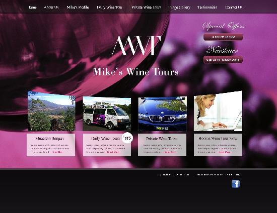 Mike's Wine Tours : Indulging your senses.........Creating positive, memorable experiences!