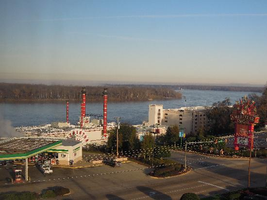 Ameristar Casino Hotel Vicksburg: View from the 8th Floor